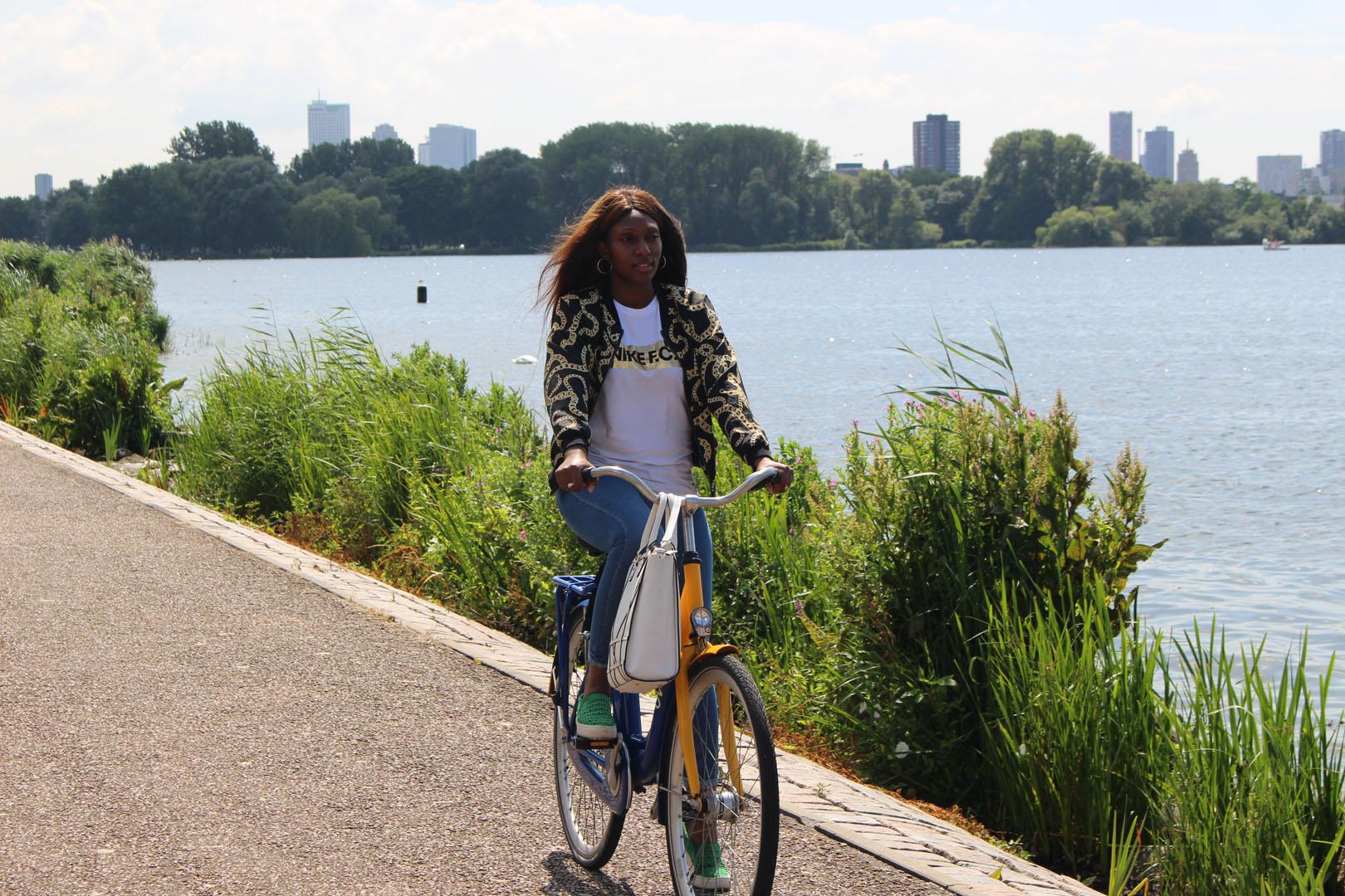 Met de OV-fiets langs de leukste 'hotstops' rond de Kralingse Plas
