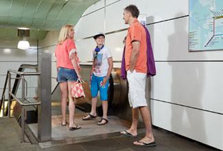 Reisinformatie metro op de Hoekse lijn