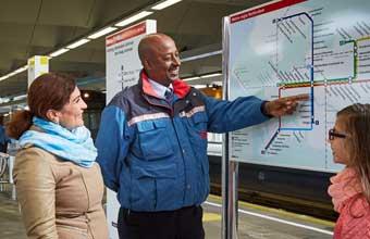 Metrolijnenkaart